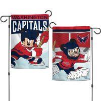 "Washington Capitals / Disney Garden Flags 2 sided 12.5"" x 18"""