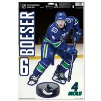 "Vancouver Canucks Multi-Use Decal 11"" x 17"" Brock Boeser"