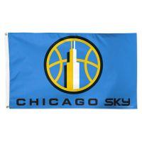 Chicago Sky Flag - Deluxe 3' X 5'