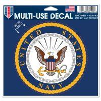 "U.S. Navy Multi-Use Decal - cut to logo 5"" x 6"""