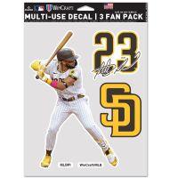 "San Diego Padres Multi Use - 3 Fan Pack 5.5"" x 7.75"" Fernando Tatis Jr."