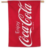 """Coca-Cola Vertical Flag 28"""" x 40"""""""