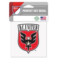 "D.C. United Perfect Cut Color Decal 4"" x 4"""
