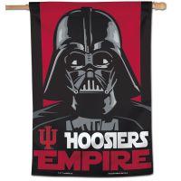 """Indiana Hoosiers / Star Wars DARTH VADAR Vertical Flag 28"""" x 40"""""""