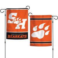 """Sam Houston State Bearkats Garden Flags 2 sided 12.5"""" x 18"""""""
