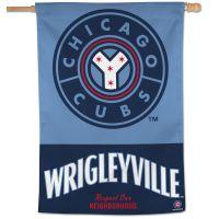 "Chicago Cubs CITY Vertical Flag 28"" x 40"""