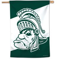 "Michigan State University /College Vault Vertical Flag 28"" x 40"""