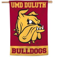 "Minnesota Duluth Bulldogs Vertical Flag 28"" x 40"""