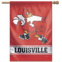 "Louisville Cardinals /College Vault VAULT Vertical Flag 28"" x 40"""