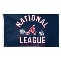 National League Champions Atlanta Braves World Series Flag - Deluxe 3' X 5'
