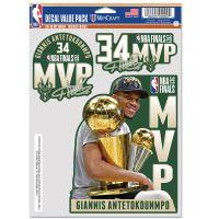 World Champions Milwaukee Bucks Multi Use 3 Fan Pack Giannis Antetokounmpo