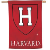 "Harvard Crimson Vertical Flag 28"" x 40"""