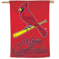 "St. Louis Cardinals Vertical Flag 28"" x 40"""