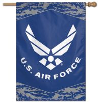 "U.S. Air Force Digi Camo Vertical Flag 28"" x 40"""