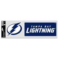"Tampa Bay Lightning Fan Decals 3.75"" x 12"""