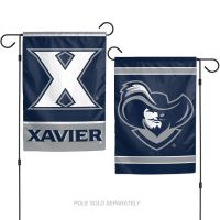 "Xavier Muskateers Garden Flags 2 sided 12.5"" x 18"""