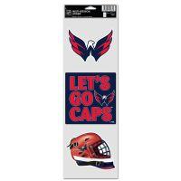 "Washington Capitals Fan Decals 3.75"" x 12"""