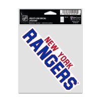"New York Rangers Fan Decals 3.75"" x 5"""