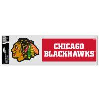 "Chicago Blackhawks Fan Decals 3.75"" x 12"""