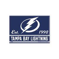 """Tampa Bay Lightning Metal Magnet 2.5"""" x 3.5"""""""