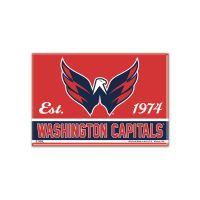 "Washington Capitals Metal Magnet 2.5"" x 3.5"""