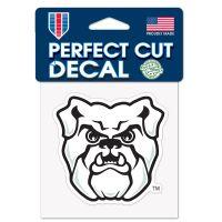 "Butler Bulldogs Perfect Cut Color Decal 4"" x 4"""