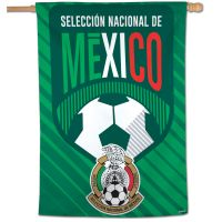 "Mexican National Soccer Vertical Flag 28"" x 40"""
