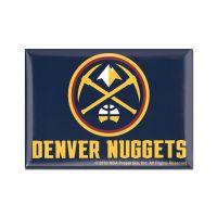 """Denver Nuggets Metal Magnet 2.5"""" x 3.5"""""""