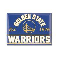 "Golden State Warriors Metal Magnet 2.5"" x 3.5"""