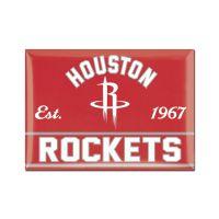 "Houston Rockets Metal Magnet 2.5"" x 3.5"""