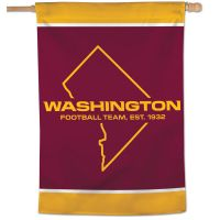 "Washington Football Team Vertical Flag 28"" x 40"""
