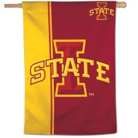 "Iowa State Cyclones Stripe Vertical Flag 28"" x 40"""