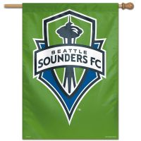 "Seattle Sounders Vertical Flag 28"" x 40"""