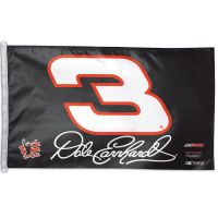 Dale Earnhardt 2 sided Flag 3' x 5'