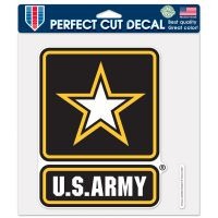 """U.S. Army Perfect Cut Color Decal 8"""" x 8"""""""