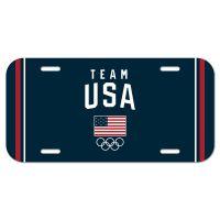USOC Team USA Logo License Plate