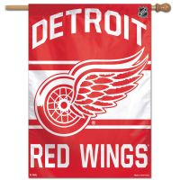 "Detroit Red Wings Vertical Flag 28"" x 40"""