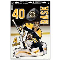 "Boston Bruins Multi-Use Decal 11"" x 17"" Tuukka Rask"