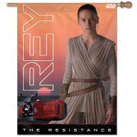"New Trilogy / New Trilogy Vertical Flag 28"" x 40"" Rey"
