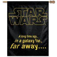 """Original Trilogy / Original Trilogy Vertical Flag 28"""" x 40"""" Core Logo"""