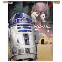 "Original Trilogy / Original Trilogy Vertical Flag 28"" x 40"" R2-D2"
