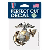 "U.S. Marines Perfect Cut Color Decal 4"" x 4"""