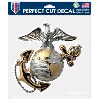 "U.S. Marines Perfect Cut Color Decal 8"" x 8"""