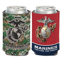 U.S. Marines Can Cooler 12 oz.