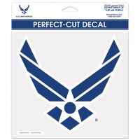 """U.S. Air Force Perfect Cut Color Decal 8"""" x 8"""""""