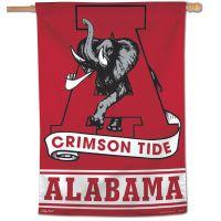 """Alabama Crimson Tide /College Vault Vertical Flag 28"""" x 40"""""""