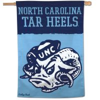 "North Carolina Tar Heels /College Vault Vertical Flag 28"" x 40"""