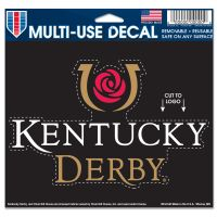 "Kentucky Derby Multi-Use Decal - cut to logo 5"" x 6"""