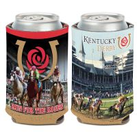 Kentucky Derby Can Cooler 12 oz.