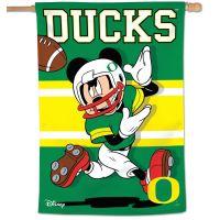 "Oregon Ducks / Disney Vertical Flag 28"" x 40"""